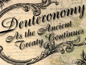 1 - Deuteronomy 1 - The Introduction