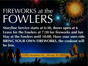 fireworksatfowlers