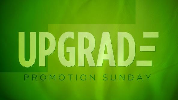 upgrade Sunday